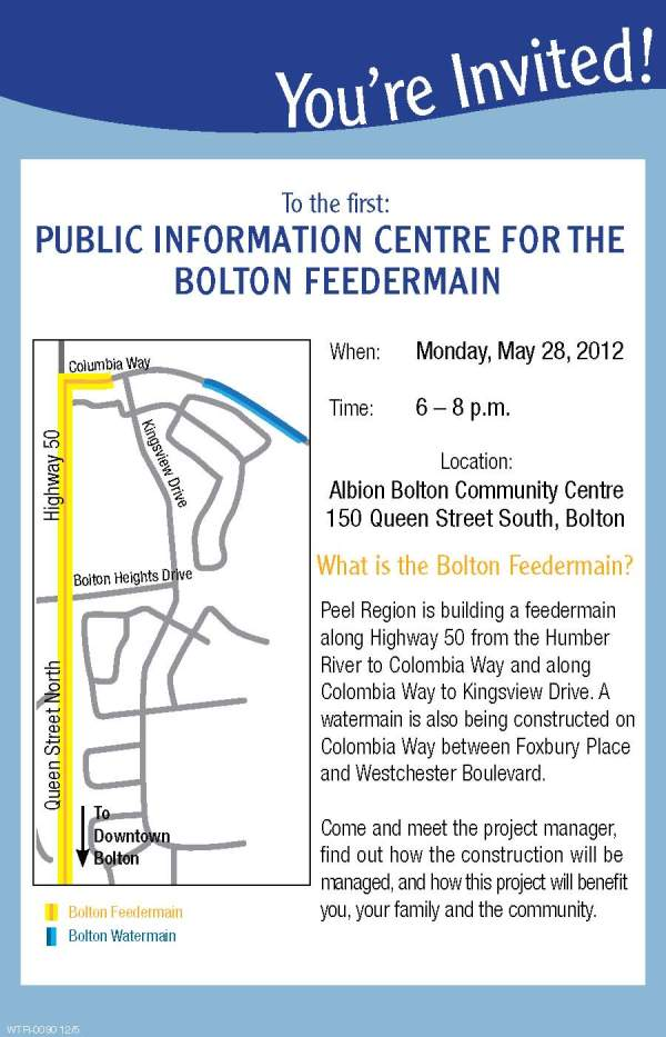 Bolton Feedermain Information Evening